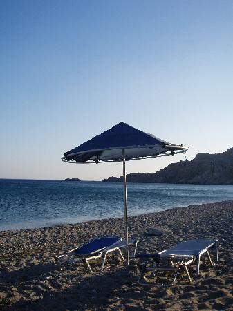 Souda Mare Hotel: Souda beach