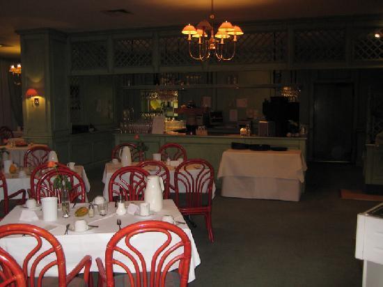 Hotel Alexandersbad: Restaurant