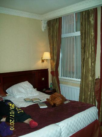 2d0ca80e913 Grange Rochester Hotel  Sheer curtains are between glass and not able to  open for more