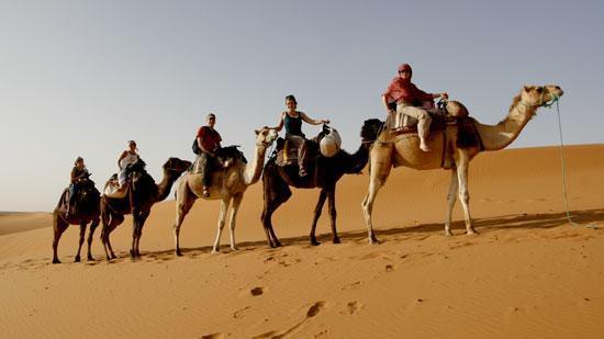 África: caravana