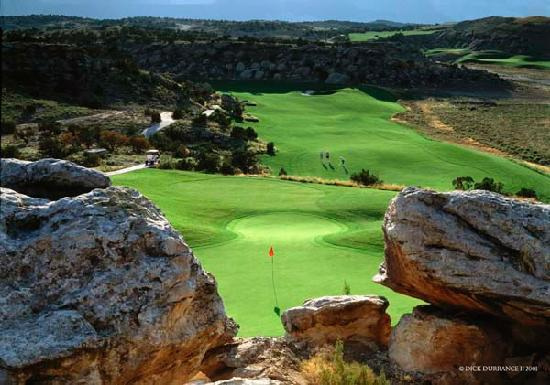Grand Junction, CO: Redlands Mesa Hole # 5