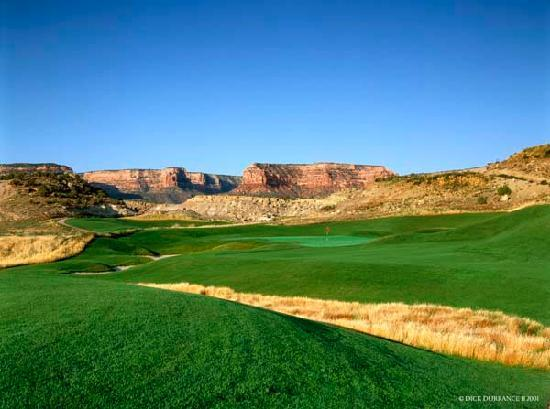 Grand Junction, CO: Redlands Mesa Hole # 11
