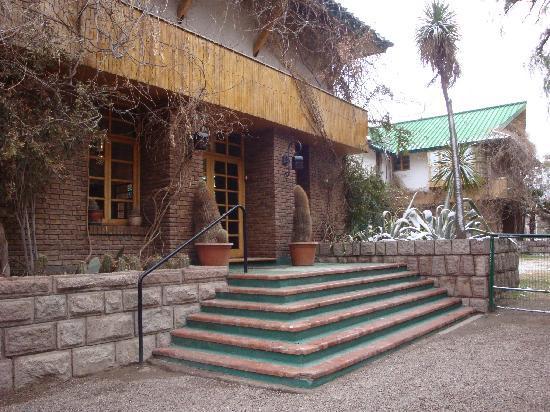 Hotel & Spa Termas Cacheuta: el hotel termal
