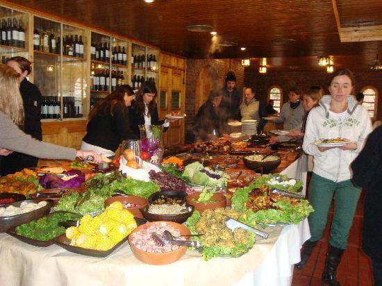 Hotel & Spa Termas Cacheuta: comida todo incluido
