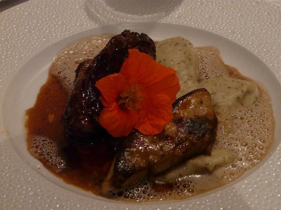 Restaurant Le Grand Bleu: Pigeon rôti façon Rossini