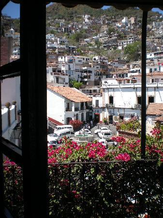 Santa Prisca: Vista desde el balcón