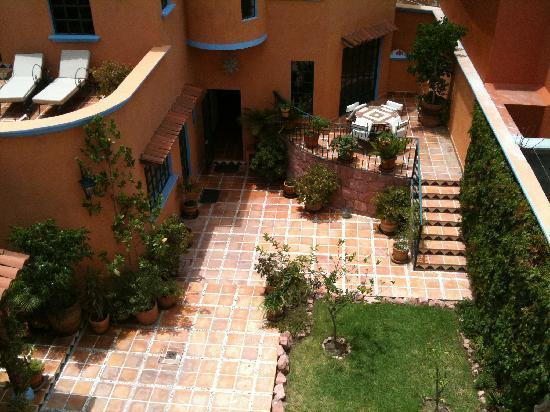 Casa Frida B&B: vista desde su terraza