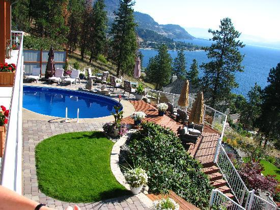 Okanagan Oasis B&B: Lovely Salt Water Pool