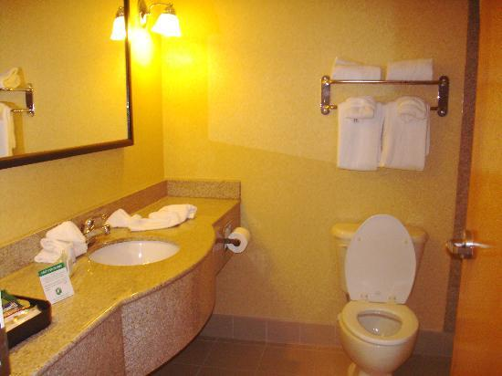 Gateway Hotel & Suites: clean bathroom