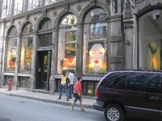 Montreal, Kanada: One of many art galleries
