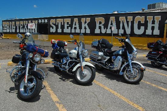Big Texan Steak Ranch: People come to the Big Texan all sorts of Ways