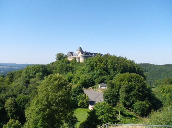 Hotel Schloss Waldeck von der Ferne
