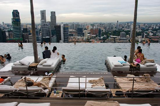 The Pool Picture Of Marina Bay Sands Singapore