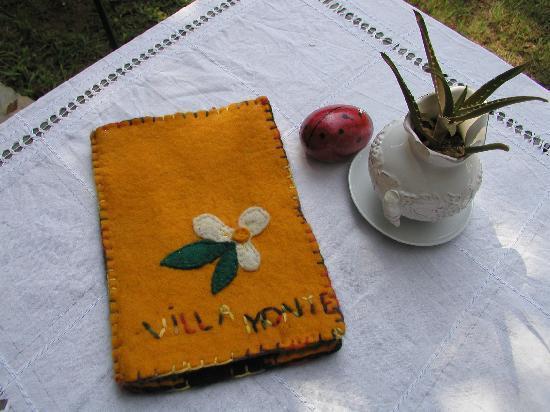 Hotel Villa Monte: Speisenkarte