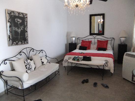 Hotel Palacio Blanco: Bedroom on the second floor