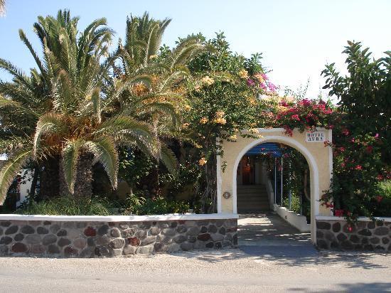 Avra Hotel: Entrance to Hotel Avra in Santorini
