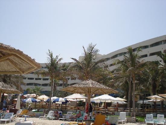 Sharjah Grand Hotel: in the beach