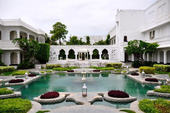 Inside Garden - Picture of Taj Lake Palace Udaipur - Tripadvisor