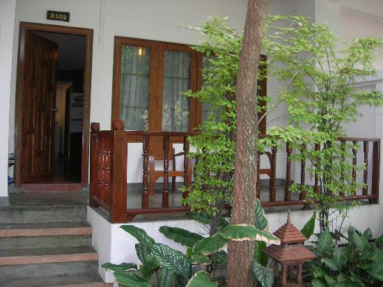 Rachawadee Oasis Resort & Hotel : Front of Grand Deluxe Room