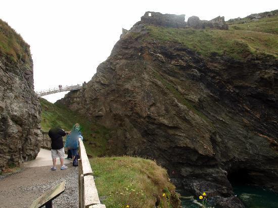 Tintagel, UK: von der Halbinsel zum Festland