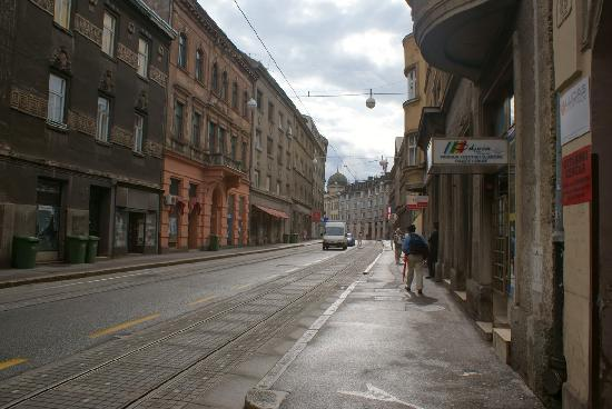 Camera Felice: calle del aparcamiento que ofrecen