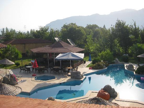 Hotel Grenadine Lodge: The Pool and Mountains