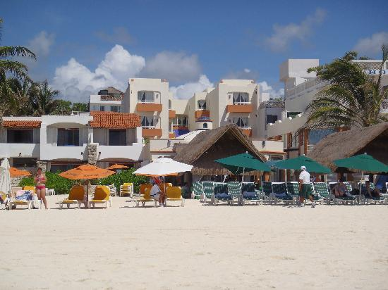 Playa Maya Hotel From The Beach