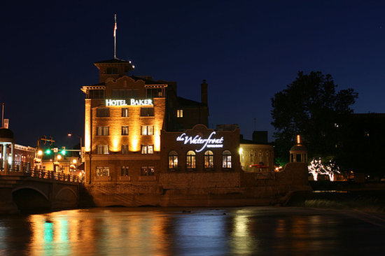 Hotel Baker at Night