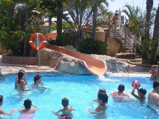 Marbella Playa Hotel: tobogán