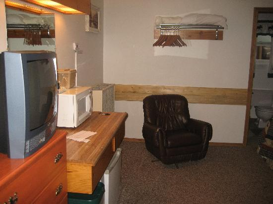 Cooke City's Elk Horn Lodge: Double Bed Room