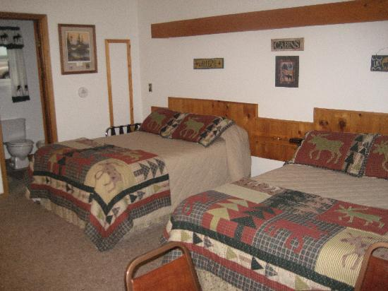 Cooke City's Elk Horn Lodge: Room Ammenities