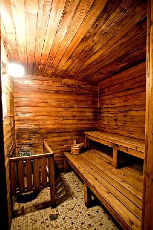 Red Tree Lodge: Sauna