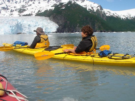 Seward, AK: kaying near Aialik glacier