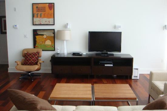 Turtle Glass at Windmark Beach: Living Room