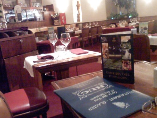 Restaurant Tea Room Hug: interior