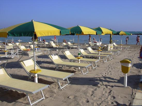 Gabicce Mare, Italia: spiaggia