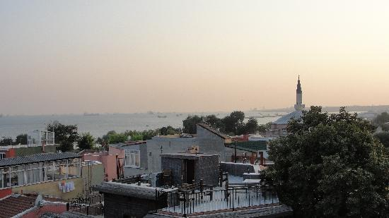 Hotel Amira Istanbul: View from rooftop