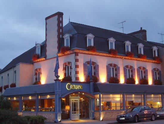 Plancoet, Prancis: Hôtel l'Ecrin et Restaurant Crouzil