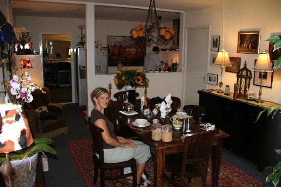 Boogaard's Bed and Breakfast: Im Frühstücksraum