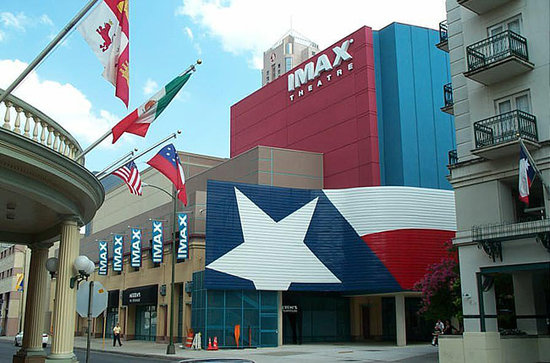 Imax 3d Theatre Rivercenter Exterior Picture Of Alamo