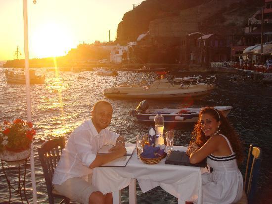 Sunset Ammoudi Taverna: Our Pic