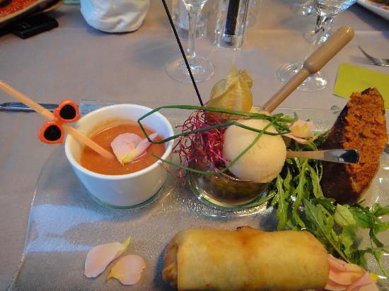 "Restaurant La Lieutenance : Tomato ""in all its forms"""