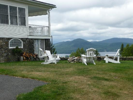 Blair Hill Inn: Imagine sitting out by the fire pit