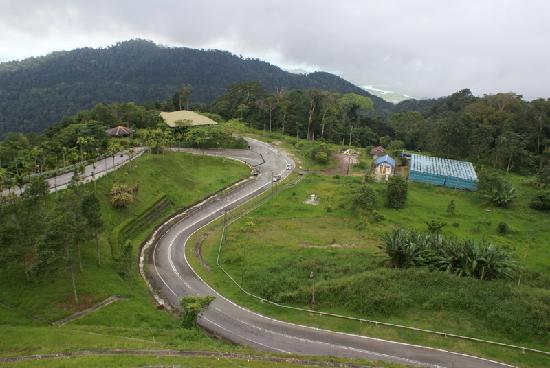 Gunung Raya: Gipfelregion