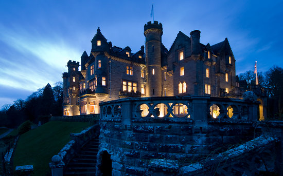 Dornoch, UK: Skibo Castle by Night