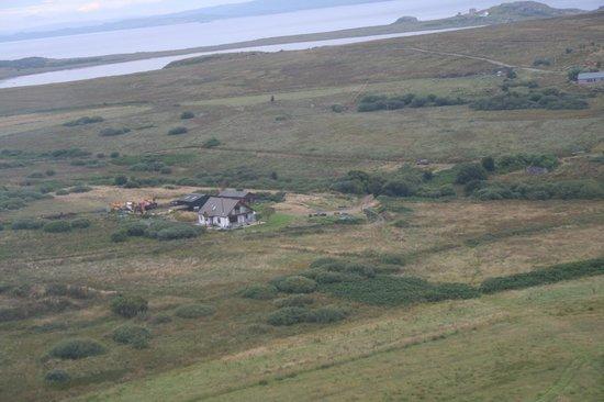 Sealladh Na Mara from the air