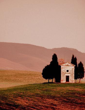 Тоскана, Италия: Capella Vitaleta