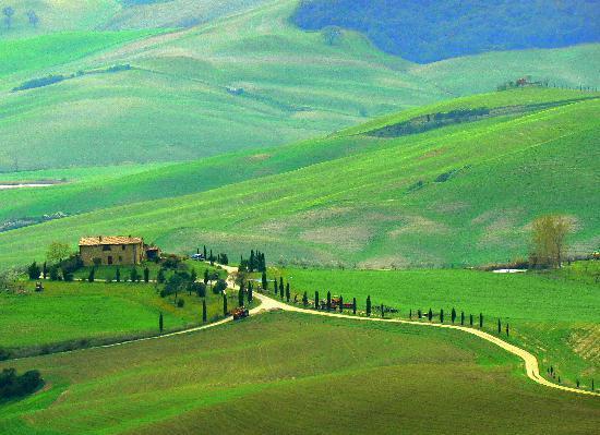 Toscana, Italia: Pienza