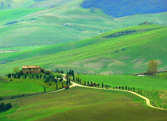 Toscana, Italien: Pienza