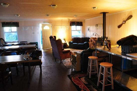 Yellowknife, Canadá: This is the interior cabin I was talking about.